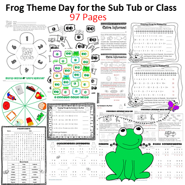 frog-day-for-the-sub-tub-or-class