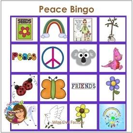 peace-bingo-printable