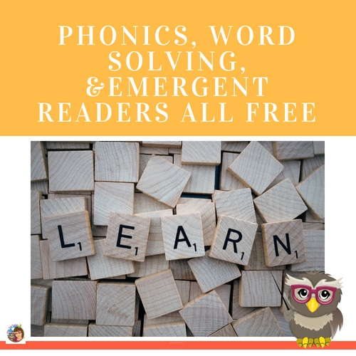 Phonics and Word Solving Free Literacy Printables