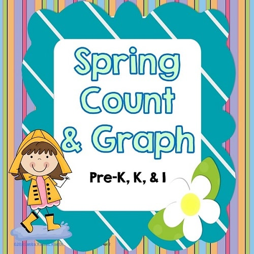 Spring Count and Graph Math Centers