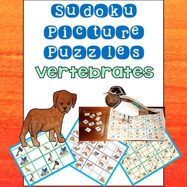 Vertebrates Sudoku Puzzles for Premium eMembers