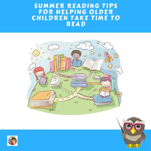 Prevent the Summer Slide in Reading for Older Children Help prevent the summer slide in reading with these tips