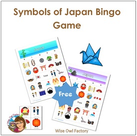 Japan Symbols Bingo