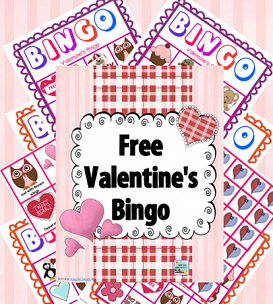 Valentine's Bingo for Color Printing
