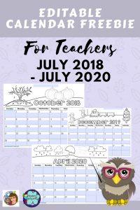 editable-calendars-for-teachers-July-2018-through-July-2020