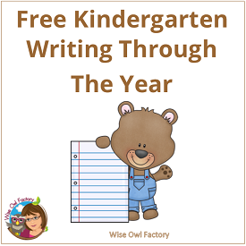 Kindergarten Thematic Writing Through the Year