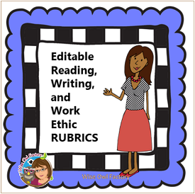 Editable Reading and Writing Workshop Rubrics