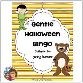 Gentle Halloween Bingo