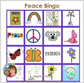 Peace Bingo for Classrooms