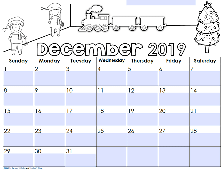 Editable Calendars December-2019-sample-page-editable-teacher-calendar