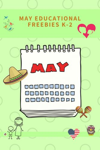 May Free teaching resources for Pre-K through elementary grades, educational site. Printables for May 4th (may the 4th be with you), Mother's Day, and more.