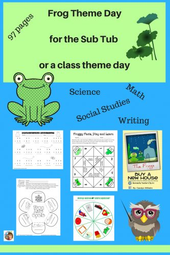 frog-theme-day-for-sub-tub-or-planned-class-day