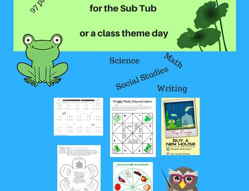 Frog Theme Day for the Sub Tub or Class