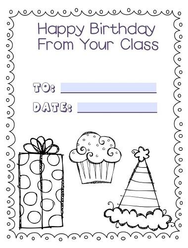 Editable Birthday Display, Slides, and Classroom Calendars