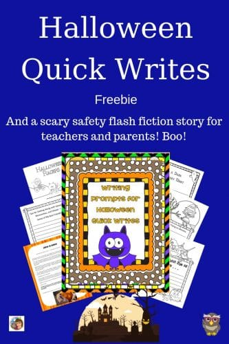 Halloween-quick-writes-freebie-and-story-for-teachers-and-parents