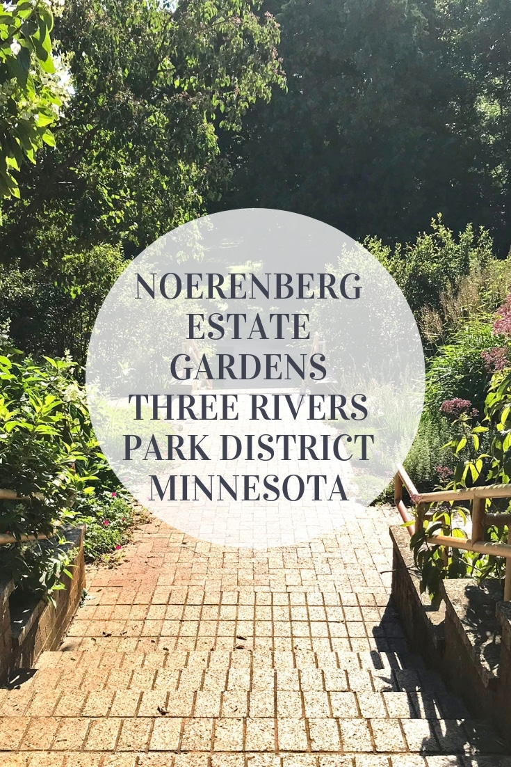 Noerenberg Memorial Gardens is known for its beauty and are on Lake Minnetonka in Minnesota, as part of the Three Rivers Park District.