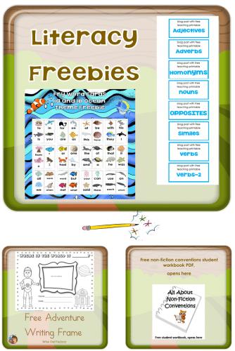 literacy-page-freebies