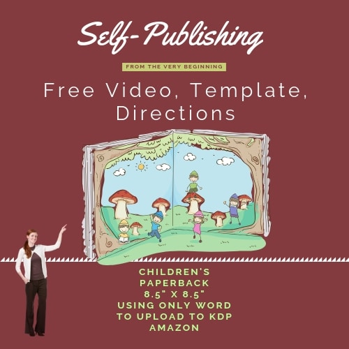 How to Self-Publish a Children's Paperback with Word
