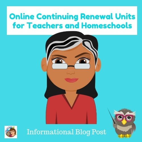 Online-Continuing-Renewal-Units-for-Teachers-and-Homeschools