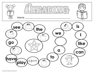 game-level-one-high-frequency-words