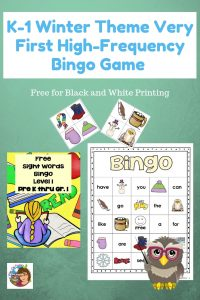 first-high-frequency-sight-words-bingo-game-winter-theme-free-download
