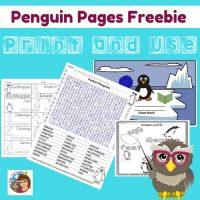 penguin-pages-free-on-Teacher-Dojo
