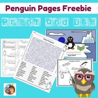 penguin-pages-free-on-Teacher-Dojo