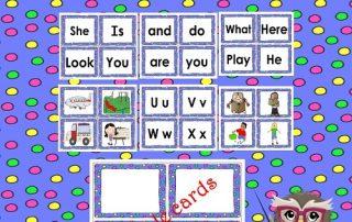 Kindergarten-free-sight-words