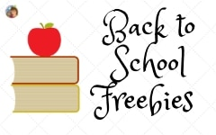 Back to School Free Educational Resources