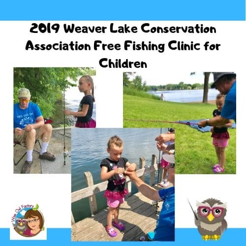 2019 Weaver Lake Conservation Association Fishing Clinic