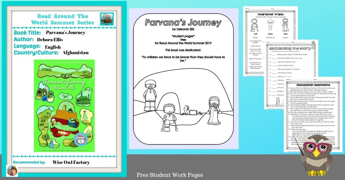Parvana's Journey Read Around the World 2019