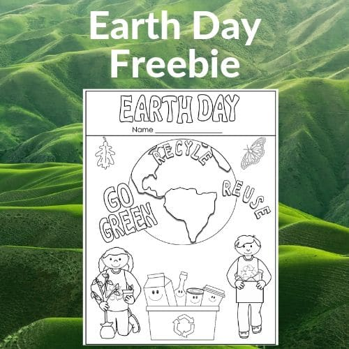 Earth Day Printable for K-1 Free Sorting PDF