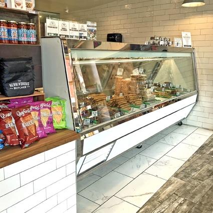 vegan butcher counter