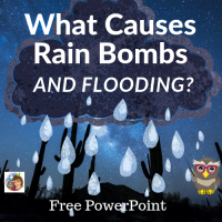what-causes-rain-bombs-and-flooding-free-PowerPoint-for-teachers-K-3