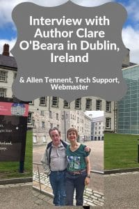 Clare-O-Beara-author-interview-Dublin-Ireland-and-IT-support-Allen-Tennent-webmaster