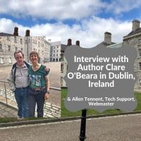 Clare-O-Beara-author-interview-Dublin-Ireland-and-IT-support-webmaster-Allen-Tennent