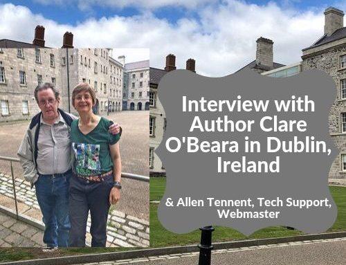 Clare O'Beara Author Interview in Dublin, Ireland