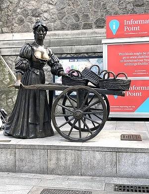 Molly-Malone-statue-Dublin-Ireland