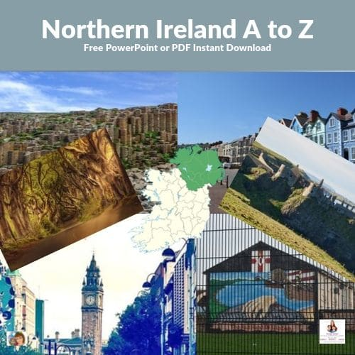 Northern Ireland A to Z PowerPoint Freebie
