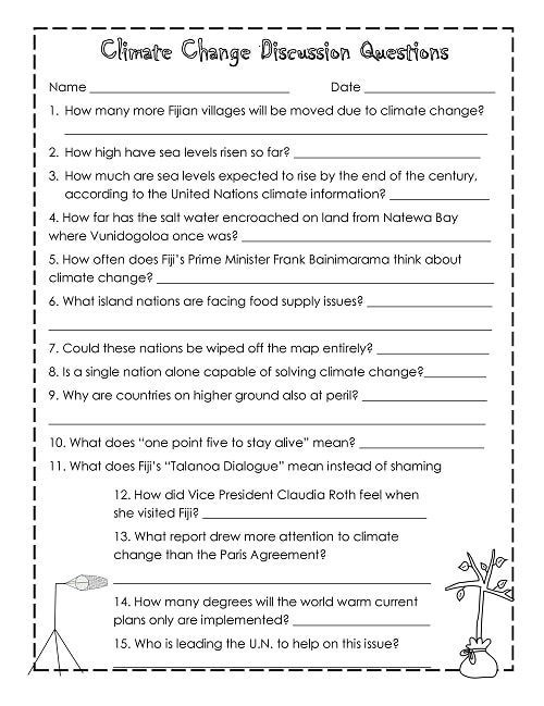The free instant download PDF work page is a single page for students, with one corresponding answer page for teachers. This is an image of the student page.