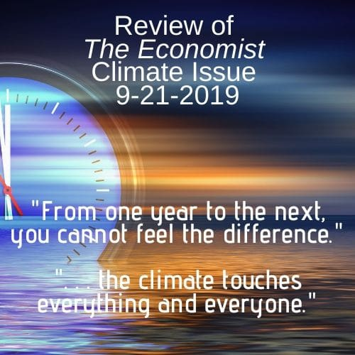 The Economist Climate Change Issue Review