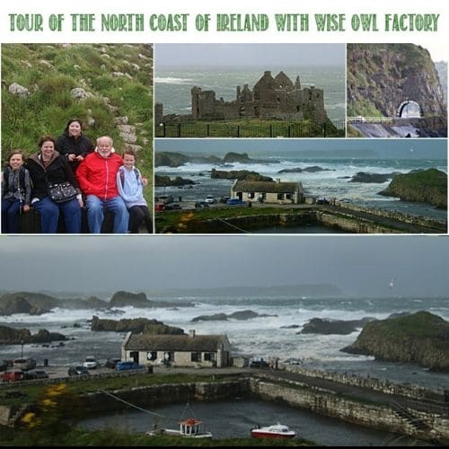 A Tour of the North Coast of Ireland With Wise Owl Factory