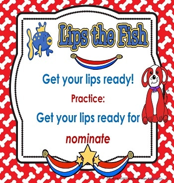 Lips the Fish word-solving strategy