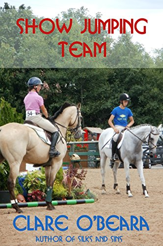 Show Jumping Team novel by Clare O'Beara review and student book companion freebie