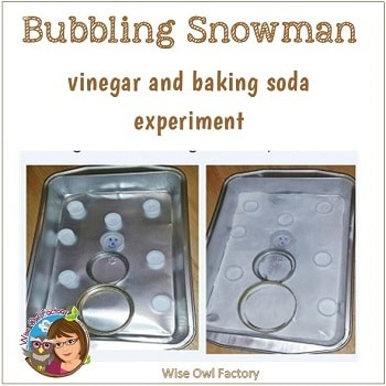 The Bubbling Snowman and Science Fun