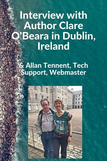 Clare O'Beara Author Interview in Dublin, Ireland