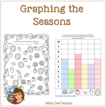 Changing Seasons Graphing Activities