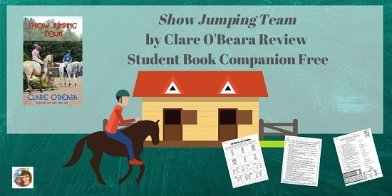 show-jumping-team-by-Clare-O-Beara-student-work-pages-companion-pack-with-writing-project-free-PDF