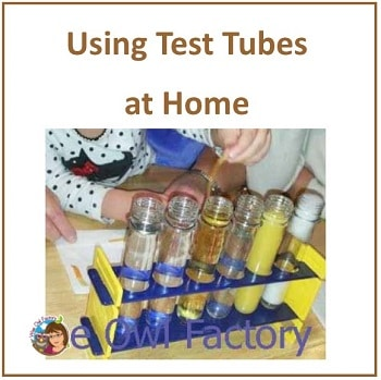 using-test-tubes-and-science-materials-at-home