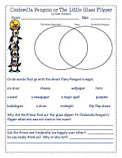 Cinderella-Penguin-or-The-Little-Glass-Flipper-book-companion-worktsheet